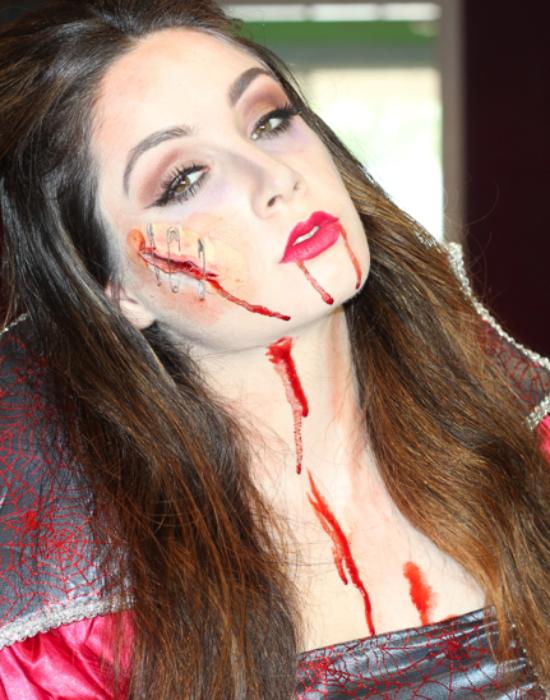Sexy Vampire Makeup | Halloween Look ☽